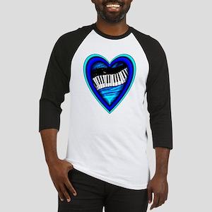 Piano Heart Baseball Jersey
