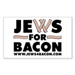 Jews-for-Bacon-T1 Sticker (Rectangle 50 pk)