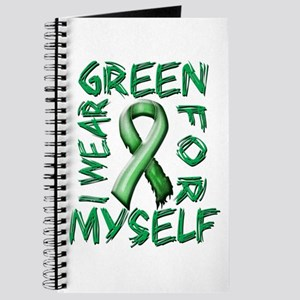 I Wear Green for Myself Journal