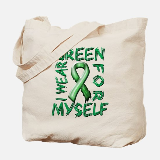 I Wear Green for Myself.png Tote Bag