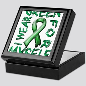 I Wear Green for Myself Keepsake Box