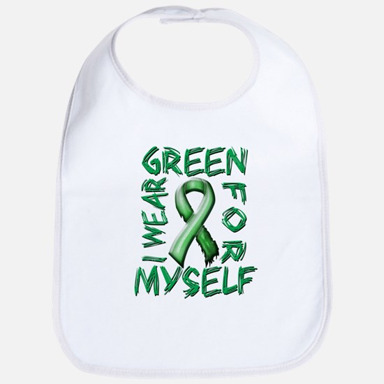 I Wear Green for Myself.png Bib