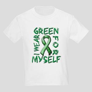 I Wear Green for Myself Kids Light T-Shirt