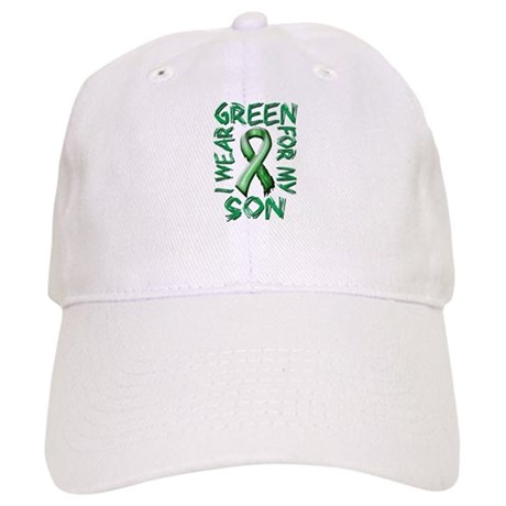 I Wear Green for my Son Cap