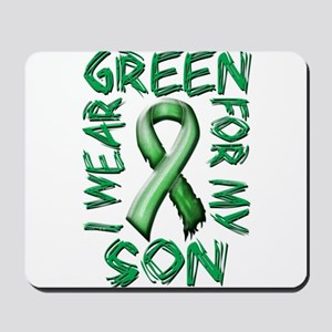 I Wear Green for my Son Mousepad