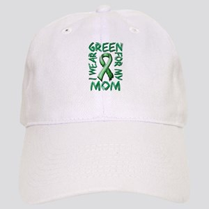 I Wear Green for my Mom.png Cap