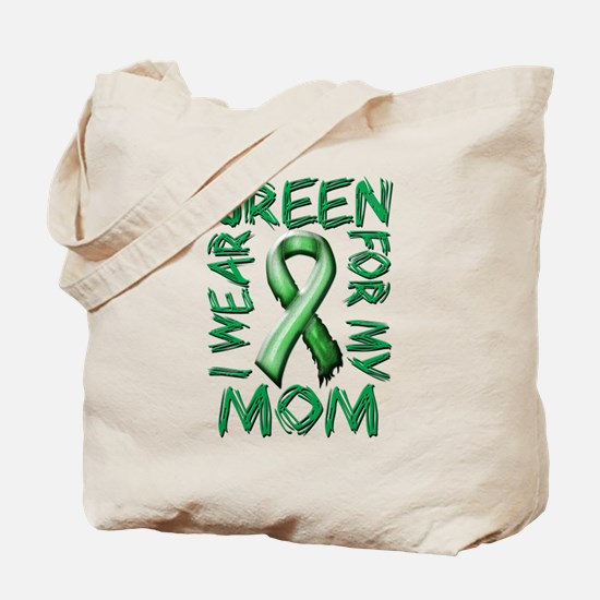I Wear Green for my Mom.png Tote Bag