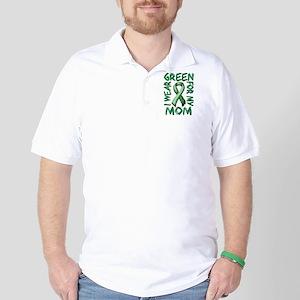 I Wear Green for my Mom Golf Shirt