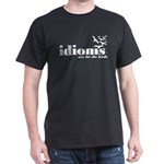 Idioms Are For The Birds Dark T-Shirt