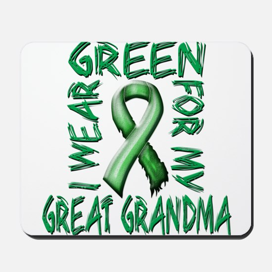 I Wear Green for my Great Grandma.png Mousepad