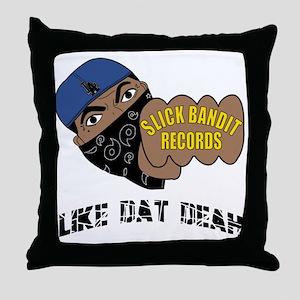 SlickBandit Throw Pillow