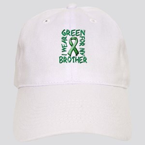 I Wear Green for my Brother Cap