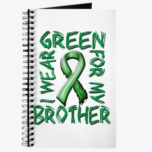 I Wear Green for my Brother.png Journal