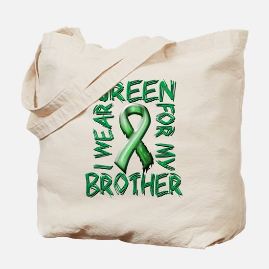 I Wear Green for my Brother.png Tote Bag