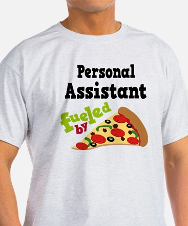 Personal Assistant Pizza T-Shirt
