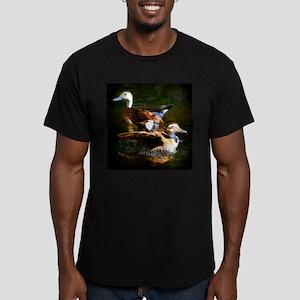 Taking Flight Men's Fitted T-Shirt (dark)