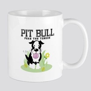 Pit Bull Fear the Tongue Mug