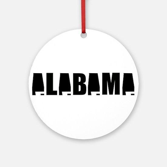 Alabama Pride Ornament (Round)