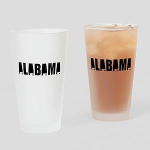 Alabama Pride Drinking Glass