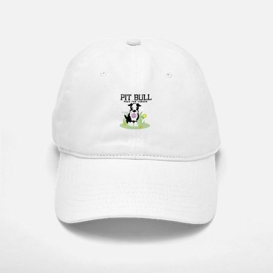 Pit Bull Fear the Tongue Baseball Baseball Cap