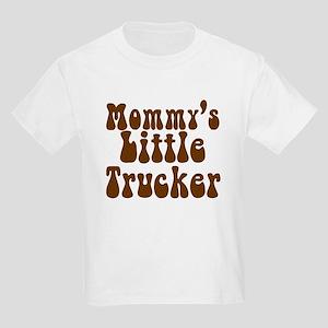 Mommys Little Trucker Kids Light T-Shirt