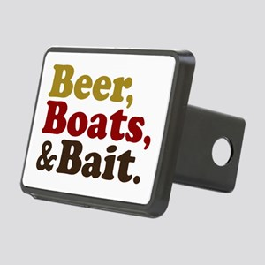 Beer Boats and Bait Fishing Rectangular Hitch Cove