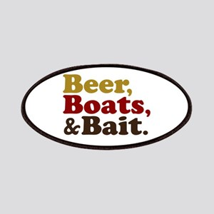 Beer Boats and Bait Fishing Patches