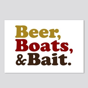 Beer Boats and Bait Fishing Postcards (Package of