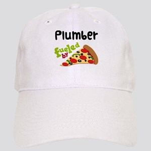 Plumber Fueled By Pizza Cap