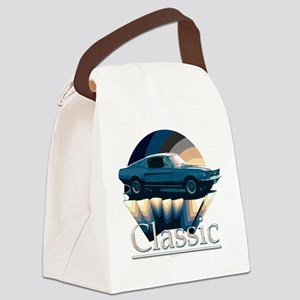 Mustang Canvas Lunch Bag