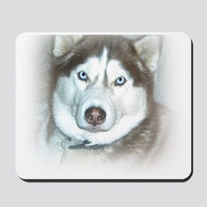 Blue-Eyed Doggie Mousepad