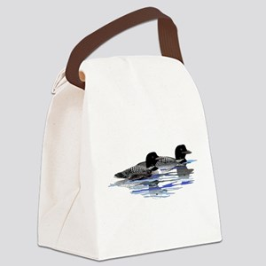 loon family Canvas Lunch Bag