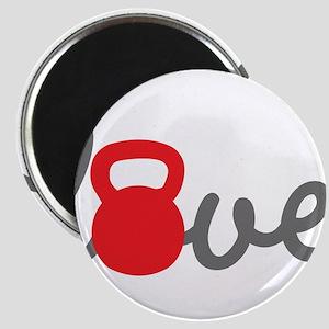 Love Kettlebell in Red Magnet