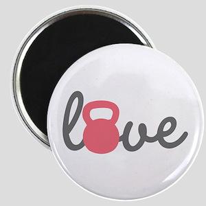 Love Kettlebell in Pink Magnet