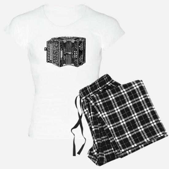 Vintage Accordion Pajamas