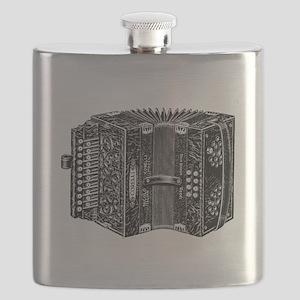 Vintage Accordion Flask