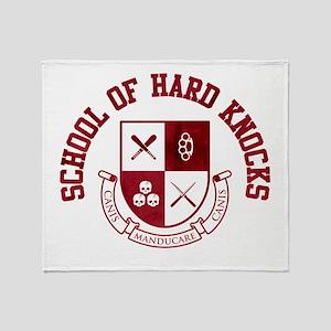 School of Hard Knocks Throw Blanket
