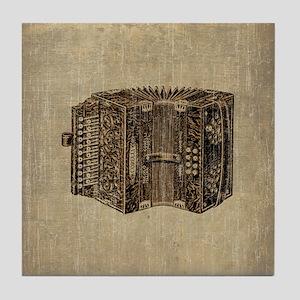 Vintage Accordion Tile Coaster