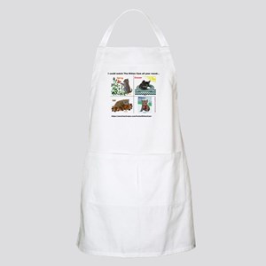 Scientist Kittens as The Four Seasons Apron
