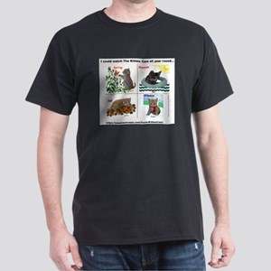 Scientist Kittens as The Four Seasons Dark T-Shirt