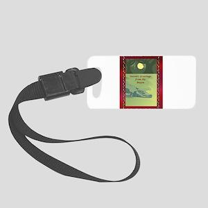 BayouGreetingsCard2 - Copy Small Luggage Tag