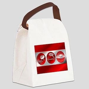 WhewTri2postcard Canvas Lunch Bag