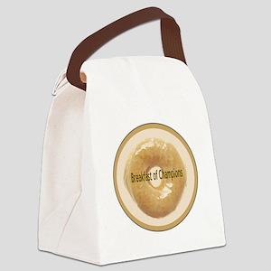 BreakfastofChampions Canvas Lunch Bag