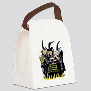 3Witches Canvas Lunch Bag
