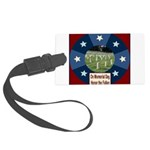veteransday Large Luggage Tag