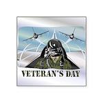 veteransday Square Sticker 3