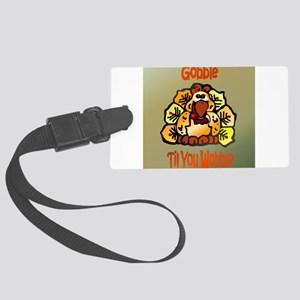 Gobblectile Large Luggage Tag