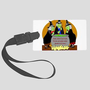 MonsterMashCard Large Luggage Tag