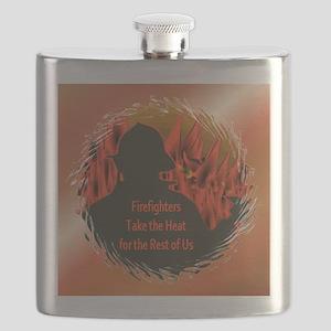 FiremanOrnament1 Flask