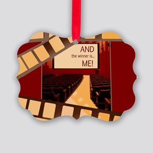 And the Winner Is Me Card Picture Ornament